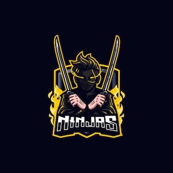 Logo d'esport ninja