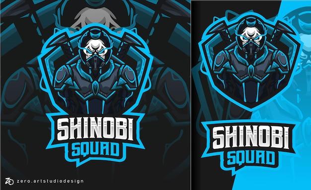 Logo esport shinobi squad