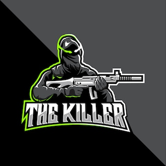 Le logo esport tueur