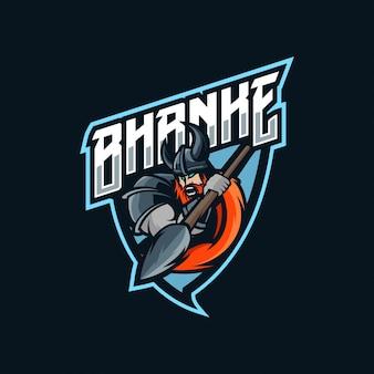 Logo esport viking