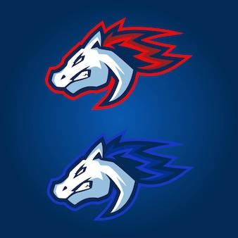 Logo d'esports de cheval