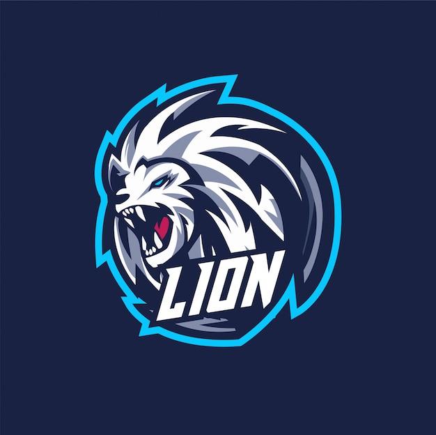 Logo d'esports lion