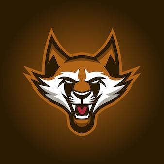 Logo esports racoon