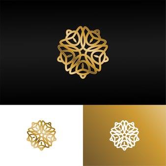Logo étoile de luxe