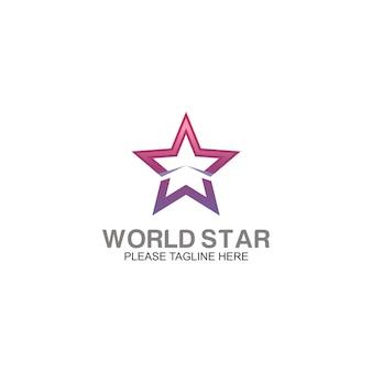 Logo de l'étoile mondiale