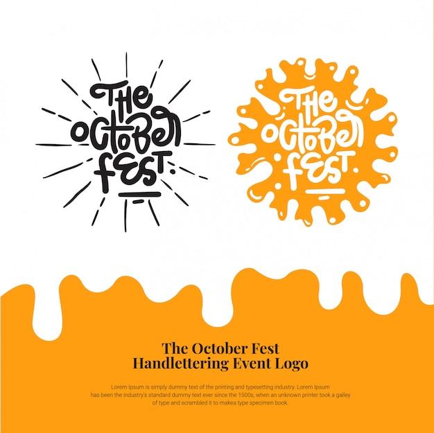 Logo de l'événement octoberfest