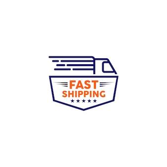 Logo expédition rapide