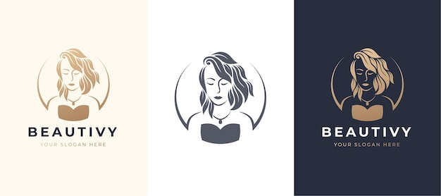 Logo de femmes de beauté