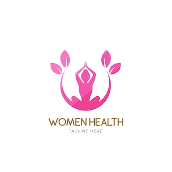 Logo de femmes en bonne santé