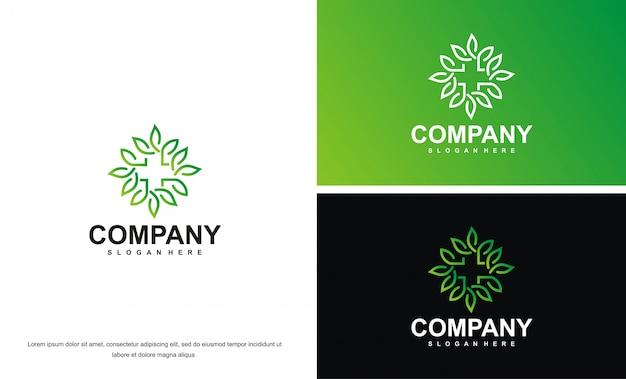 Logo feuille de cannabis marjuana
