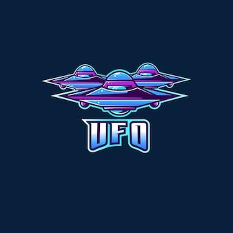 Logo de fiction ufo extraterrestre nouveau