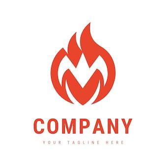 Logo fire m