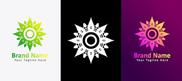 Logo fleur fleuri