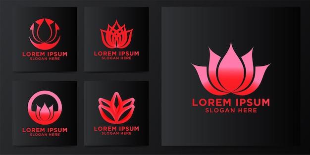 Logo de fleur de lotus