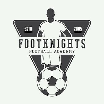 Logo de football ou de football