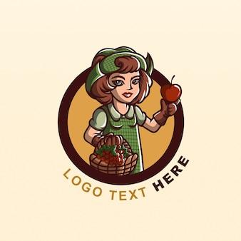 Logo frais de la ferme