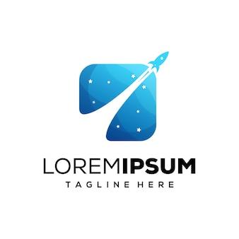 Logo de fusée