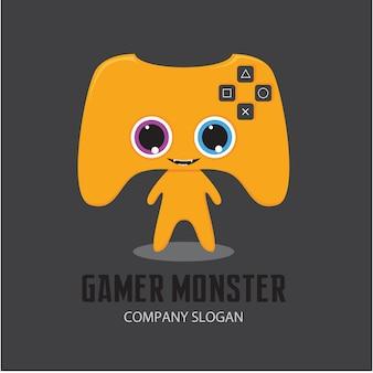 Logo gammer monster