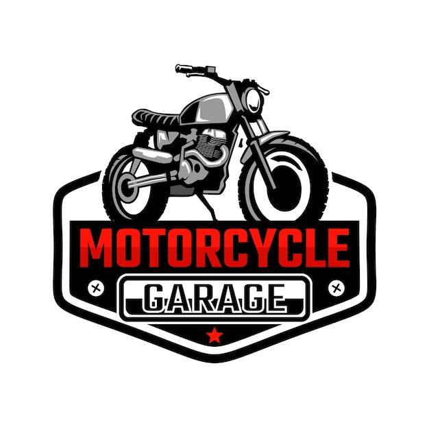 Logo de garage personnalisé moto