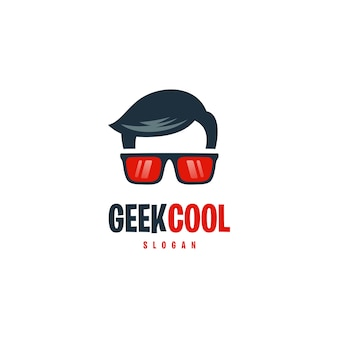 Logo geek cool