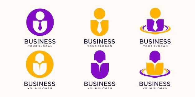 Logo de gens d'affaires