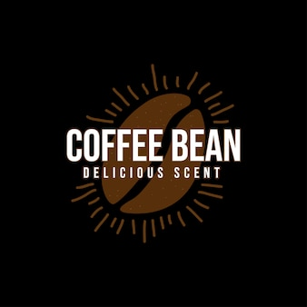 Logo grains de café