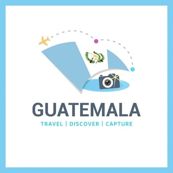 Logo guatemala voyage