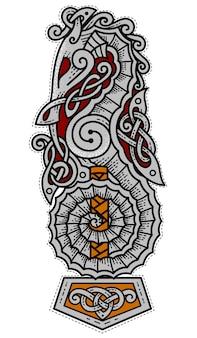 Logo des guerriers de la mer viking