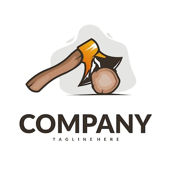 Logo de la hache de montagne