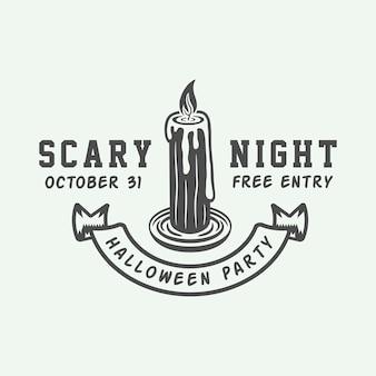 Logo d'halloween