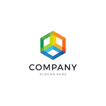 Logo hexagonal