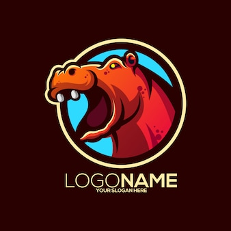 Logo hippopotame