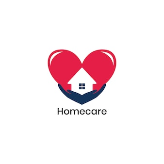 Logo homecare adapté aux entreprises de santé et de protection