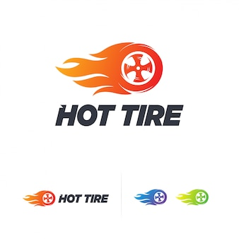 Logo hot tire