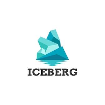 Logo iceberg prêt à l'emploi