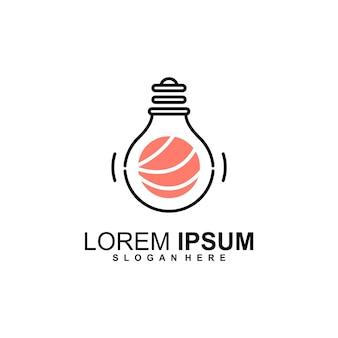 Logo d'idée de sushi