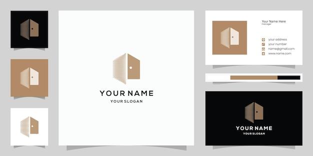 Logo immobilier, logo maison moderne, propriété, logo maison, maison et bâtiment