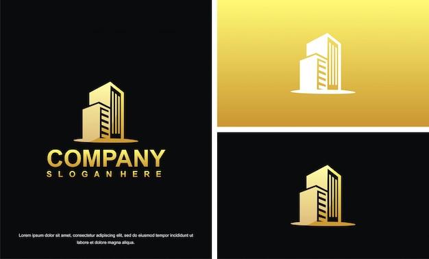 Logo immobilier de luxe