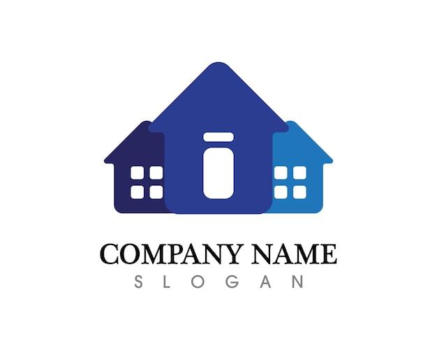 Logo de l'immobilier et des maisons
