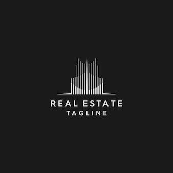 Logo immobilier premium