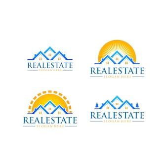 Logo immobilier, property logo