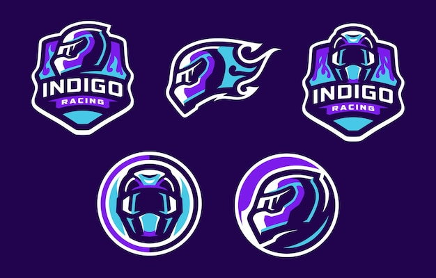 Logo indigo racing sport