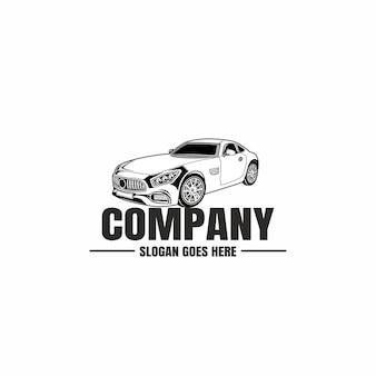 Logo de l'industrie automobile automobile