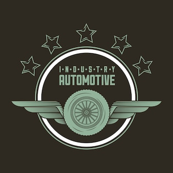 Logo de l'industrie automobile