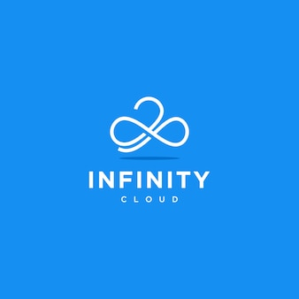 Logo infinity cloud