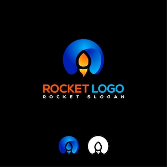 Logo initial de fusée