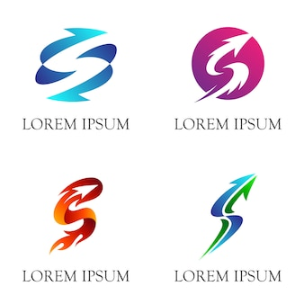 Logo initial s business