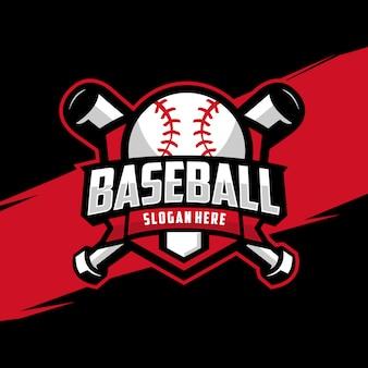 Logo d'insigne de baseball