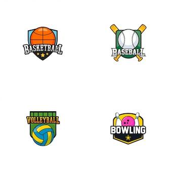 Logo insigne de sport