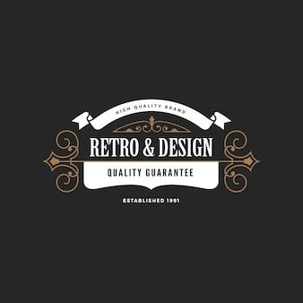 Logo insigne vintage